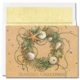 Beach Wreath Boxed Holiday Cards - 18 Sets