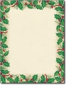 Dancing Holly Stationery - 80 Sheets