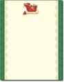 Filled Sleigh Holiday Letterhead