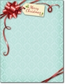 Gift Package Holiday Stationery - 80 Sheets