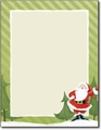 Jolly Santa Claus Stationery - 80 Sheets