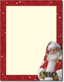 Jolly St. Nick Letterhead - 80 Sheets
