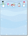 Let It Snowmen Holiday Paper - 80 Sheets