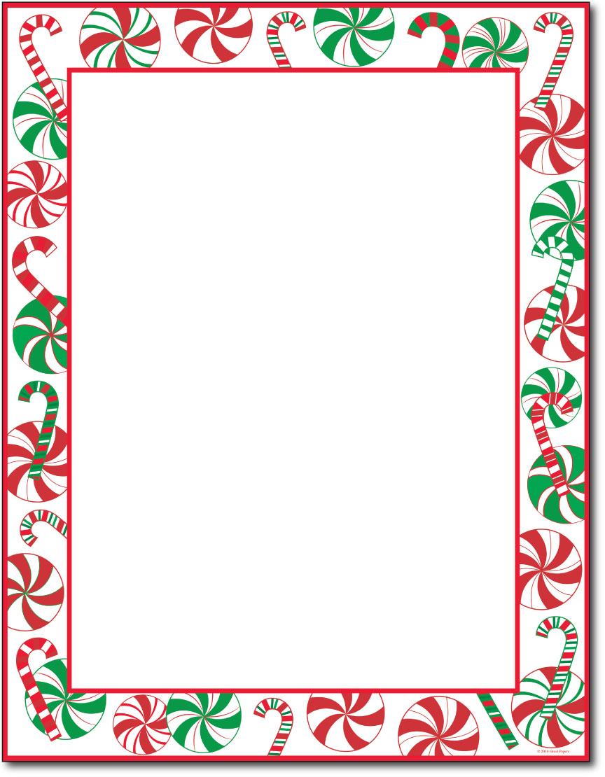 Paper Holiday Paper & Christmas Stationery Peppermints Party Holiday ...