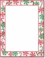 Peppermints Party Holiday Stationery - 80 Sheets