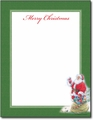 Santa & Bird Holiday Letterhead