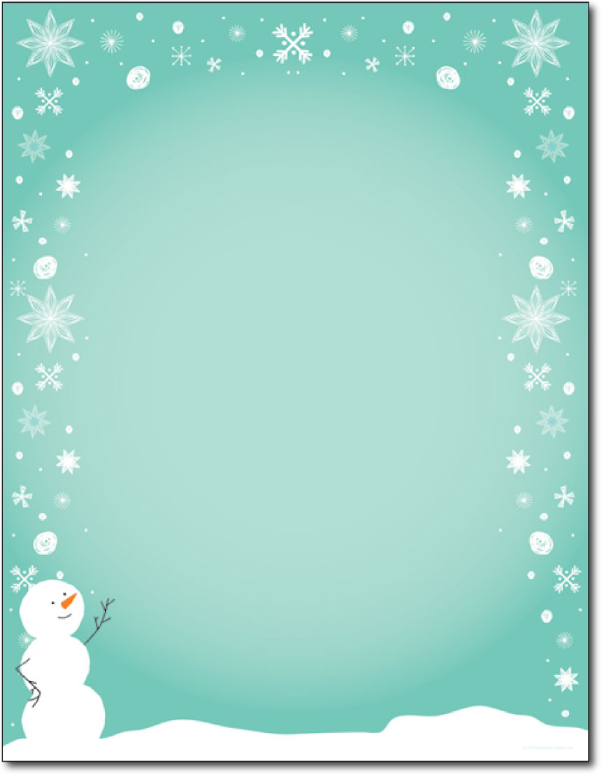 Silly Snowman Holiday Paper - 80 Sheets - Holiday Paper & Christmas ...