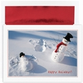Snowman Angels Boxed Christmas Cards - 18 Cards & Envelopes