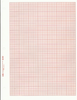 "461323 K&E 10 x 10 �� Grid Tracing Paper 5th line accented 10th Heavy, Orange Ink, 8 1/2"" x 11"", 7"" x 10"" grid size Pkg 100 (min order 10+)"
