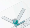 Adjustable Protractor Head by Linex