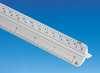 Alvin 2200 Series Aluminum Metric Scales For Engineering