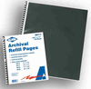 Archival Sleeves Sheet Protectors for Presentation Cases, Portfolios, & Binders