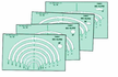 Big Ellipse Template Set 4 60 From 1 1/4 - 6 1/2