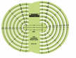 Civil Engineers' Radius Guide Template 127R