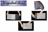 Clear Self Sealing Envelopes Protect & Store Artwork, Prints, & Photographs Pkg 25