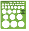 Circle Template Master Draw 45 Circles From 1/16 - 2 1/4""