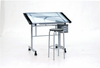 Craft Table with Glass Top - Vision Hobby Hobby Station by Studio Designs