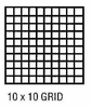 "Drafting Film 10X10  Grid 1/10"" Grid 3 Mil Double Matte"