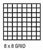 "Drafting Film 8x8 Grid 1/8"" 3 Mil Double Matte"