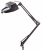 Black Magnifier Drafting Lamp Swing Arm