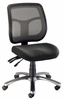 Ergonomic Office Chair Mesh Argentum Black by Alvin
