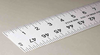 Fairgate Aluminum Rulers USA Made