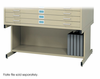 High Base Safco Flat File 37x26 Sand