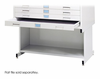 White High Base Safco Flat File 37x26