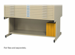 Sand High Base Safco Flat File 43x32
