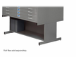 Gray High Base Safco Flat File 50x38