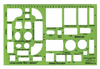 "House Furnishings Template 1/4""=1'"