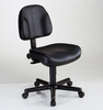 Leather Office Chair Black Premo CH444 by Alvin