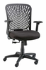 Mesh Back Office Chair Zephyr Managers Chair By Alvin Mesh Back Office Chair