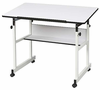 MiniMaster Drafting Table by Alvin 24X36 Top White