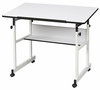 "MiniMaster II Drafting Table White 24"" x 40"" Top by Alvin"