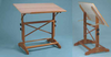 Pavilion Wood Drafting Table 31X42 Unfinished Wood Top (Oversized Add 30.00 for Shipping)