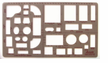 "Picket Home Furnishings Template 1/4""=1'"