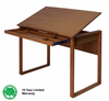 Ponderosa Wood Top Drafting Desk by Studio Designs (oversized add 40.00 for shipping)