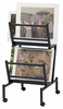 Print Rack Double by Alvin Holds Up To 17�x26� Prints On Top and Bottom