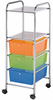 "Rolling Storage Carts 3 Drawer Two Shelve 15 ""d x 11 �""w x 38""h by Alvin"
