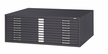 "Black Safco Flat File 10 Drawer 43x32 1 1/4""H Ships Truck $100.00"