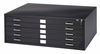 Black Safco Flat File 5 Drawer 37x26x2H Truck Shipping $100.00