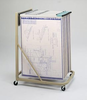Safco 5026 Blueprint Plan Rack Vertical File Free Shipping USA
