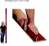 "Safety Ruler Red Rhino Up to 100"" Large Metal Safety Rulers"