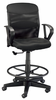 Salambro Jr Mesh Drafting Chair Black