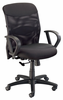 Salambro Mesh Office Chair Black