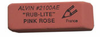 Soft Erasers for Pencil Alvin Rub-Lite Rose