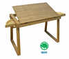 The Wing Wood Drafting Desk by Studio Designs (oversized add 40.00 for shipping)