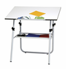 Ultima Drafting Table 30 X 42� Top White Base Studio Designs (oversized add 30.00 shipping)