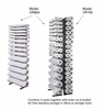 Visi-Racks by BD Vertical High Volume Roll Storage Racks for Blueprints, Documents, Drawings, & Maps